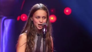 Voice Kids - 12-Year Old Resa Sings Metallica