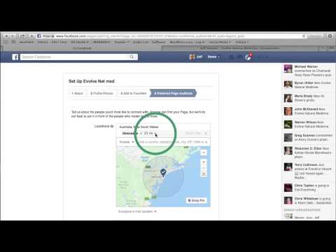 Creating a FB business page