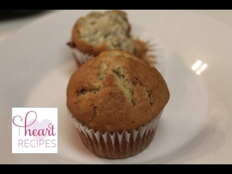 Banana Muffin Recipe | I Heart Recipes