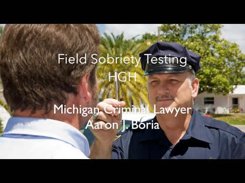Plymouth OWI Lawyer - HGN - Field Sobriety Test