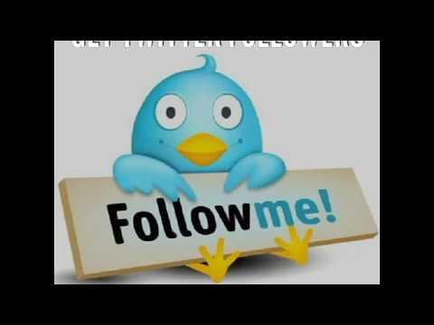 Get Twitter Followers Free ( No Spam)