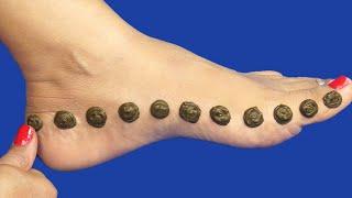Latest Ornamental Mehndi Designs | Simple Mehndi Designs For Leg | Arabic Mehndi With Painting Brush