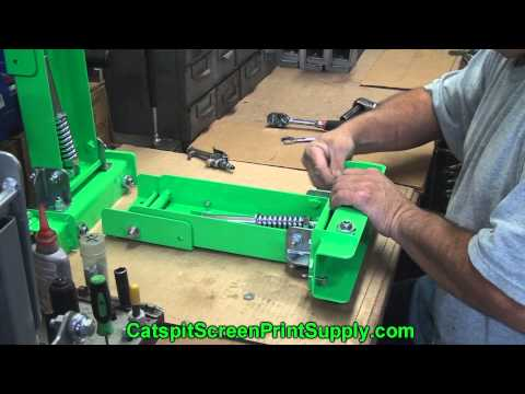 Screen Printing Tee Shirts: Inexpensive Heavy Duty Bench Press