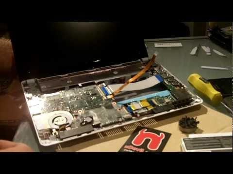 Asus Eee PC 1015B Ram und Festplatte aufrüsten