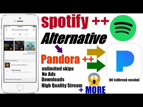 iOS 11/ 9-10.3.2: Spotify ++ Alternative( Pandora ++) No Ads, Unlimited Skips, Downloads,No Time Out