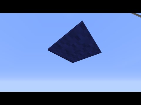 How To Get Floating Carpet In Minecraft! No String! No Blocks!