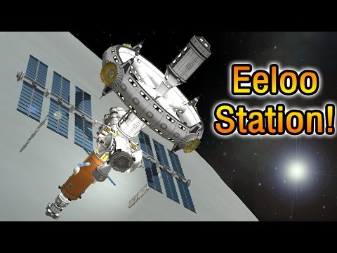 Eeloo Ring Station in 1 launch! KSP 1.2