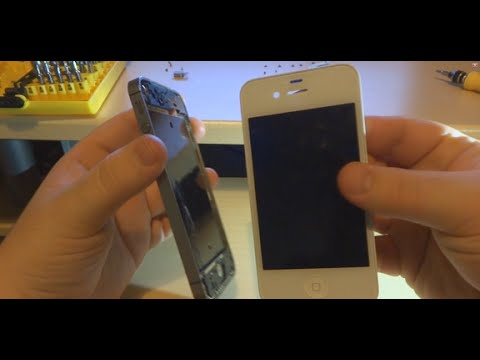 How to replace iPhone 4S screen/digitizer (reassembly walkthrough)