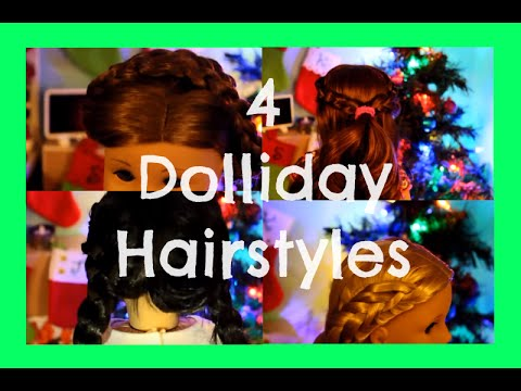 Cute & Festive Hairstyles for AG Dolls!