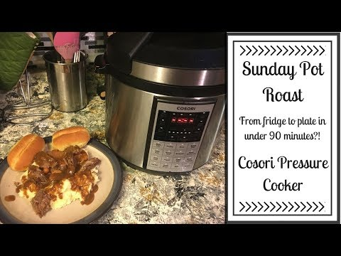 COOK WITH ME   Sunday Pot Roast in the COSORI Pressure Cooker!