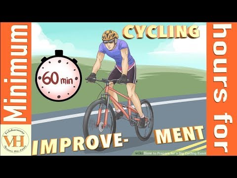 how many hours to train for Cycling improvement