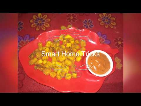 Protein popcorn | Panner popcorn recipe in Hindi | cheesy bits | Panner snacks | Tea Time Recipe |