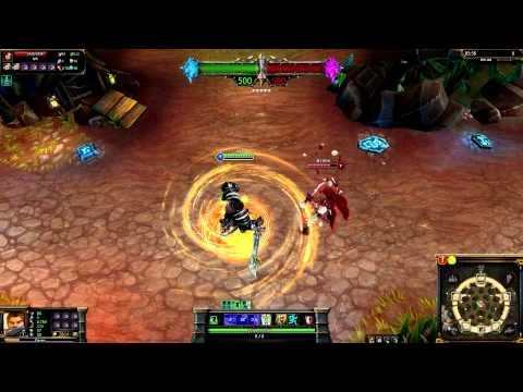 (OLD) Dreadknight Garen League of Legends Skin Spotlight