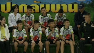 Thai soccer players apologize to parents for cave misadventure