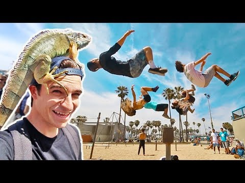 MOST INSANE TRICKING AT VENICE BEACH!!! (CRAZY EDITS)