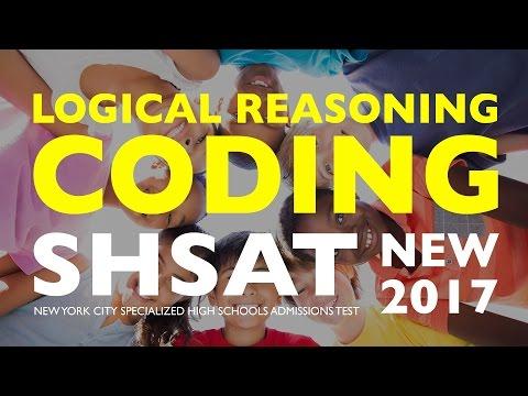 SHSAT Logical Reasoning: Coding | Specialized High School Exam | New York City | SHSAT Exam Prep