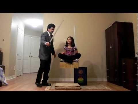 Princess Flying Carpet Toronto Magician Raj Revised