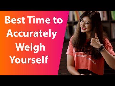 वजन मापने का सर्वोत्तम समय I Sapna Vyas