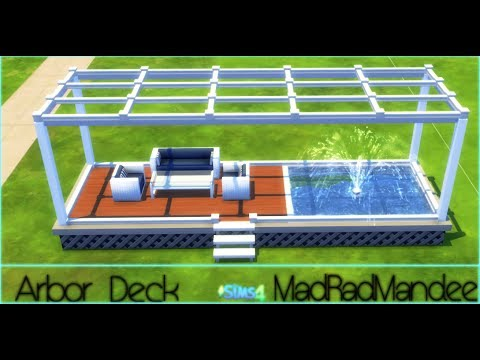 Arbor Deck Speed Build|Sims 4