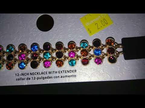 $2.00 ChokerS , Monroe piercing and rings