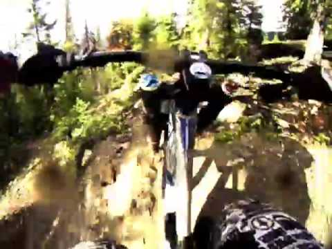 Riding the 2010 Giant Glory 0 downhill bike, part 2