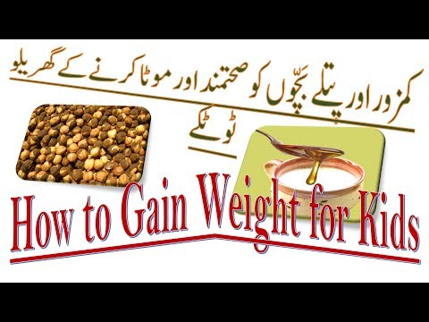 How to Gain Weight For Kids Fast I Balanced Diet For Underweight Children