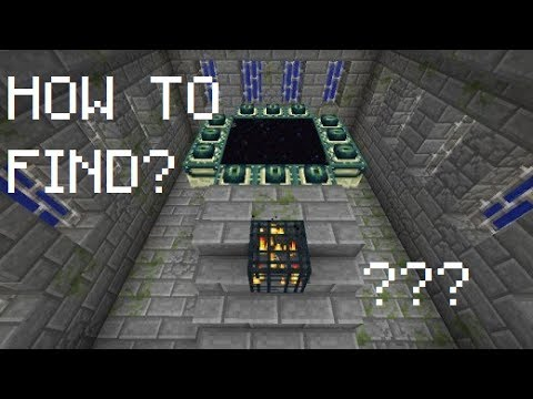 HOW TO FIND THE STRONGHOLD IN MINECRAFT