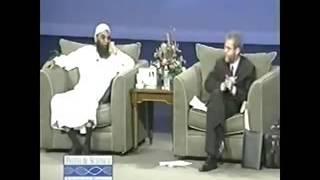 Christian vs Muslim debate (funny). did Jesus die for our sins?