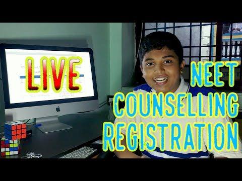 NEET COUNSELLING PROCEDURE| PART 2 |LIVE REGISTRATION