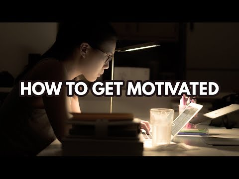 HOW TO GET & STAY MOTIVATED--Self Motivation