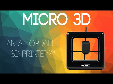 Micro 3D Printer Unboxing, Review & First Print