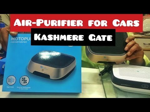 Air Purifier For Cars | Kashmere Gate Car Accessories market | Kashmere Gate, New delhi.