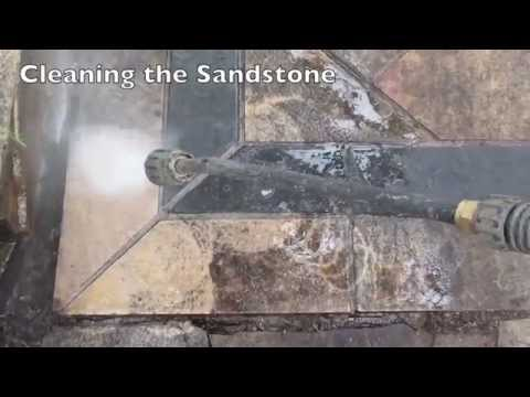 How to Clean Sandstone Pavers