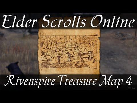 Rivenspire Treasure Map 4 [Elder Scrolls Online ESO]