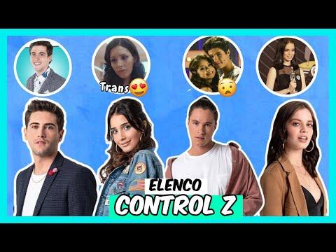 Conoce el Elenco de la Serie CONTROL Z Netflix / 10 Curiosidades Personajes 🔥😲