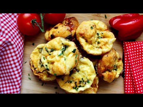 How to make Frittata Muffins - w/ Sausage - (Recipe)   Daniela's Home Cooking
