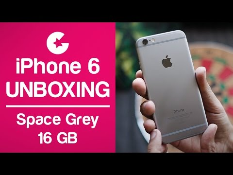 iPhone 6 Unboxing 2017 ( Space Grey - 16GB )
