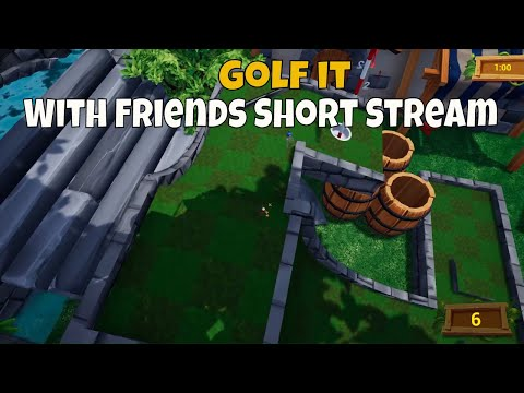 Golf it with friends.