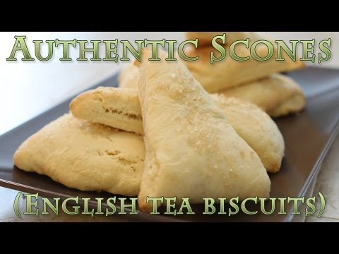 How To Make Authentic Plain Scones ( Tea Biscuits )