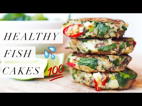 Healthy Fish Cakes | Gluten Free, Dairy Free