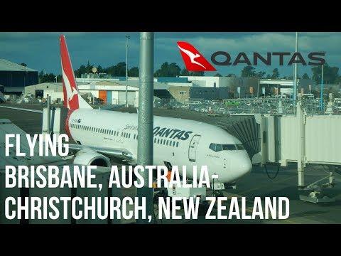 Flight report Brisbane to Christchurch   Qantas business class
