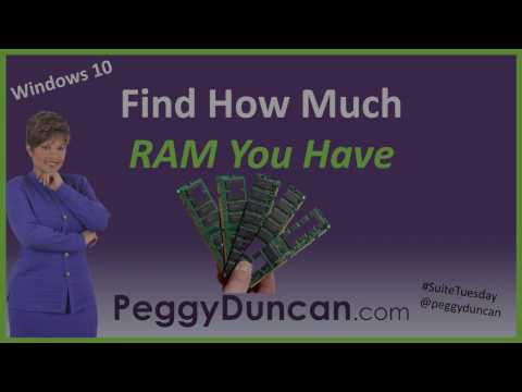 How to Find Out How Much RAM Your Computer Has (Windows 10)