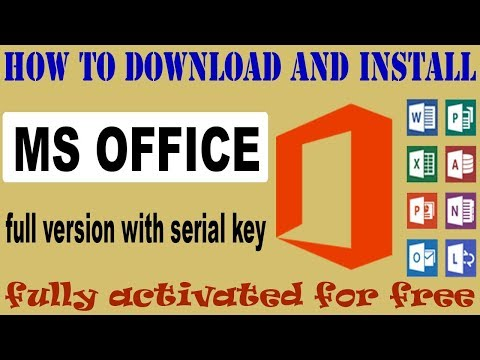 how to download and install MS Office 2007 free and full version with licence key