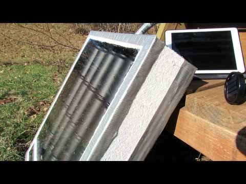 A Greenhouse Solar Can Heater: Questions, Thermal Mass, Max Temperature - The Rusted Garden 2013