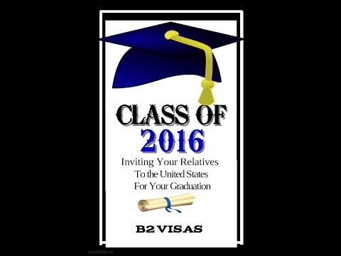 Inviting Your Family for Graduation| B2 Visitor Visa for family members