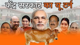 केंद्र सरकार का यू टर्न | Indian Supreme Court Suspends Cattle Slaughter Ban And Orders Review
