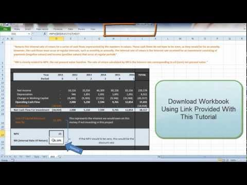 What Is IRR? - Excel Tutorial