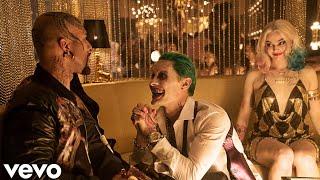Cradles - Sub Urban (BATCH Remix) - Harley Quinn and Joker - (Music Video)