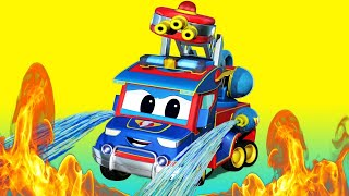 Download Truck videos for kids - FIRETRUCK HERO can't handle the FIRE alone - Super Truck in Car City !