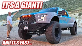 Meet the F-350 MEGA-RAPTOR! (Caution: Puts All Other Ford Raptors To Shame)